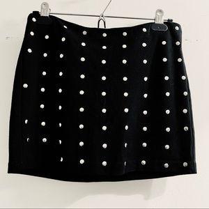Costa Blanca Studded Mini Skirt